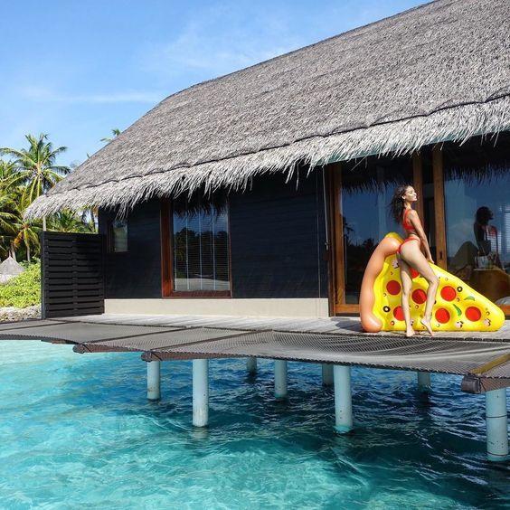 Joan Smalls Vacation Shoot
