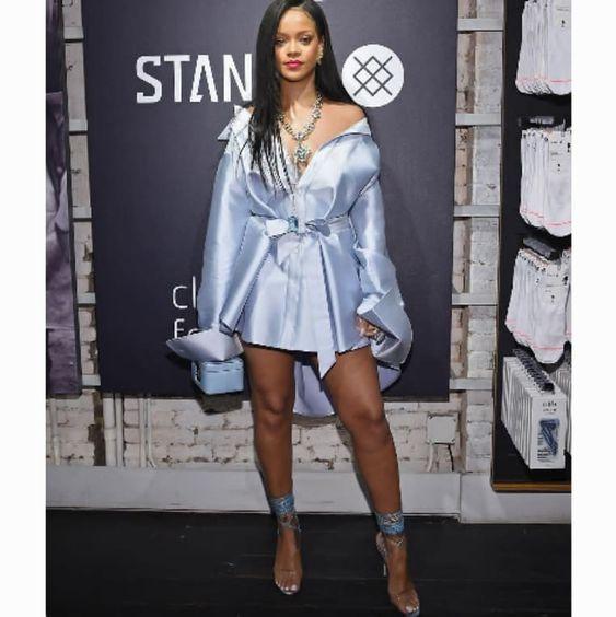 Rihanna In Blue